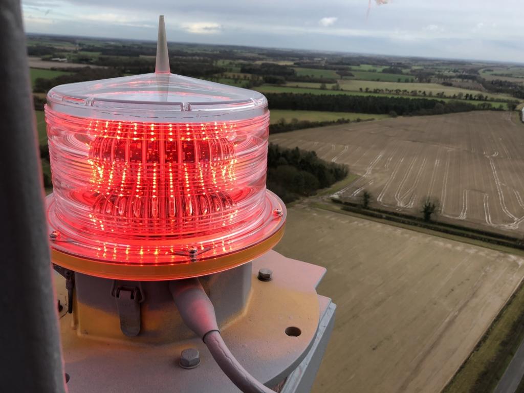 Aviation aircraft warning lights delta obstruction lighting