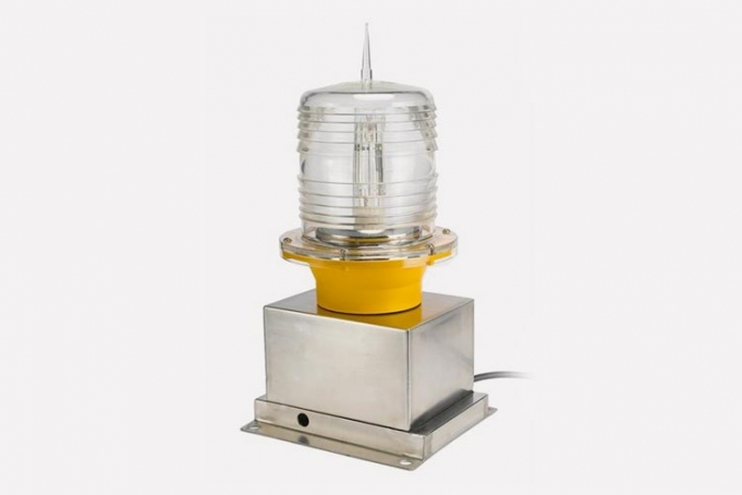 helicopter obstruction light used helipads and guide helicopters for landing