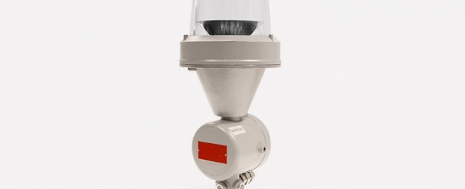 aircraft warning lighting that is explosion proof and low intensity
