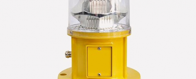 medium intensity obstruction light for cranes and aviation warning