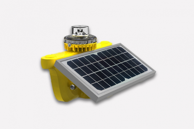 WLS-25 aircraft warning light can be used 7 days without sunlight