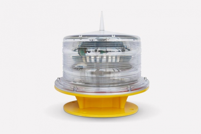 led aviation warning light for tall buildings